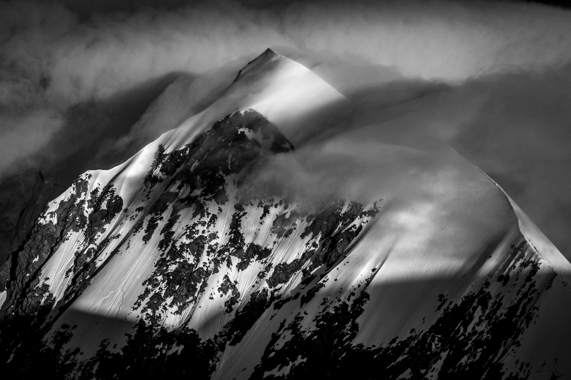 Photo massifs Mont Blanc - Aiguille de Bionassay