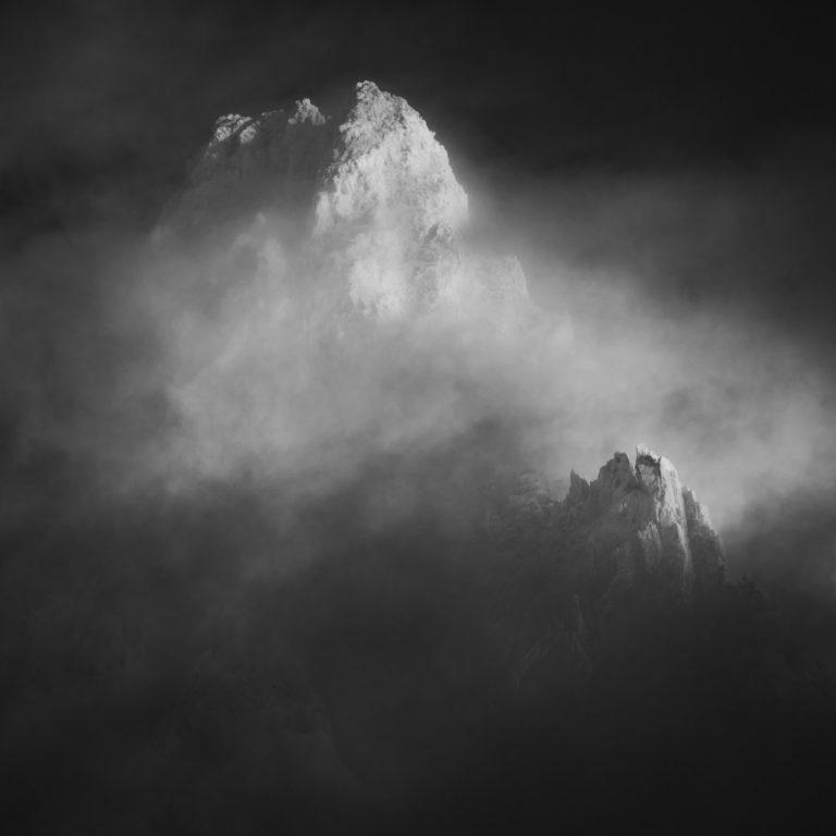 photo Massif du Mont Blanc - Photo montagne - Aiguille de Rochefort