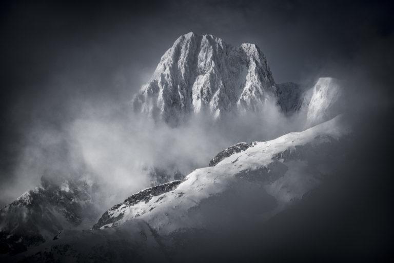 Massif du Mont Blanc - Photo montagne Aiguille des Glaciers
