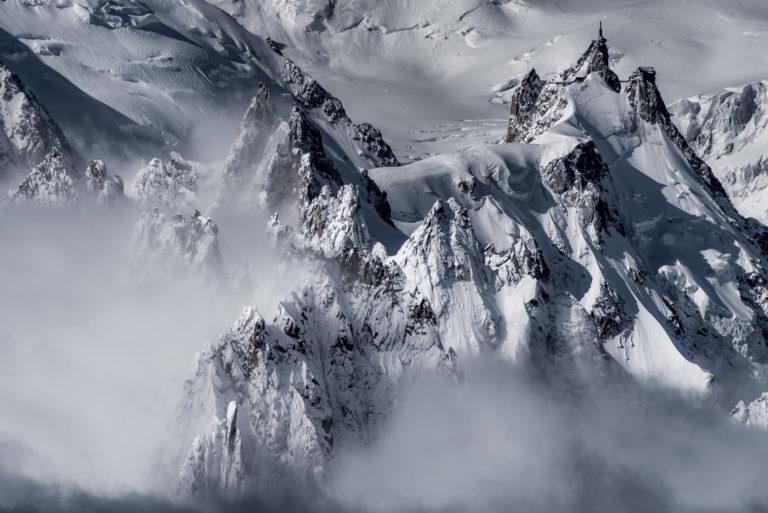 Photo montagne Aiguille du midi-Aiguilles Chamonix - Mont Blanc