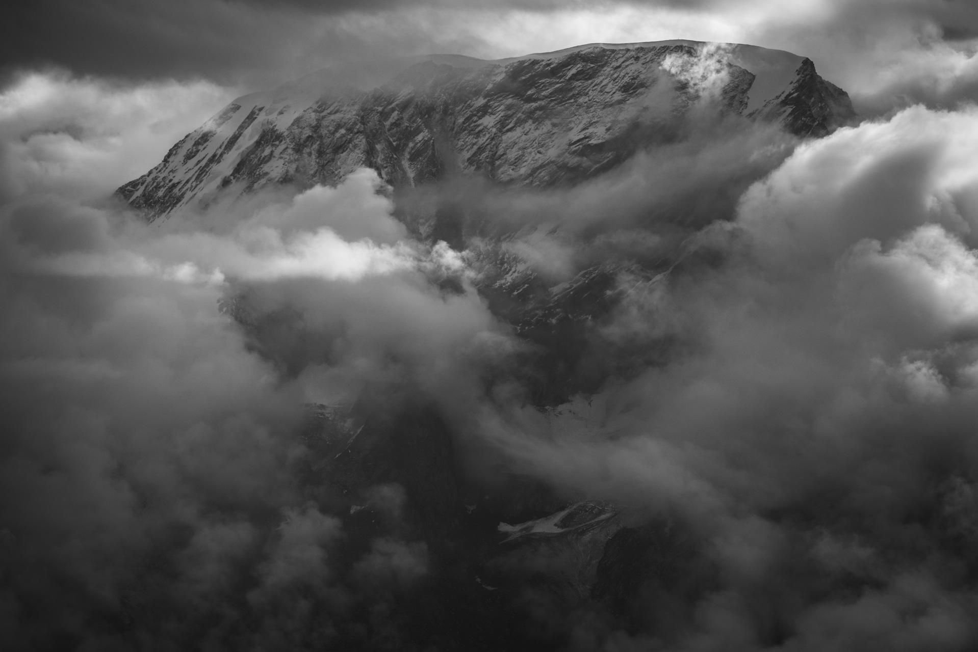 Photo montagne Alpes suisses Vallée Zermatt- Alphubel