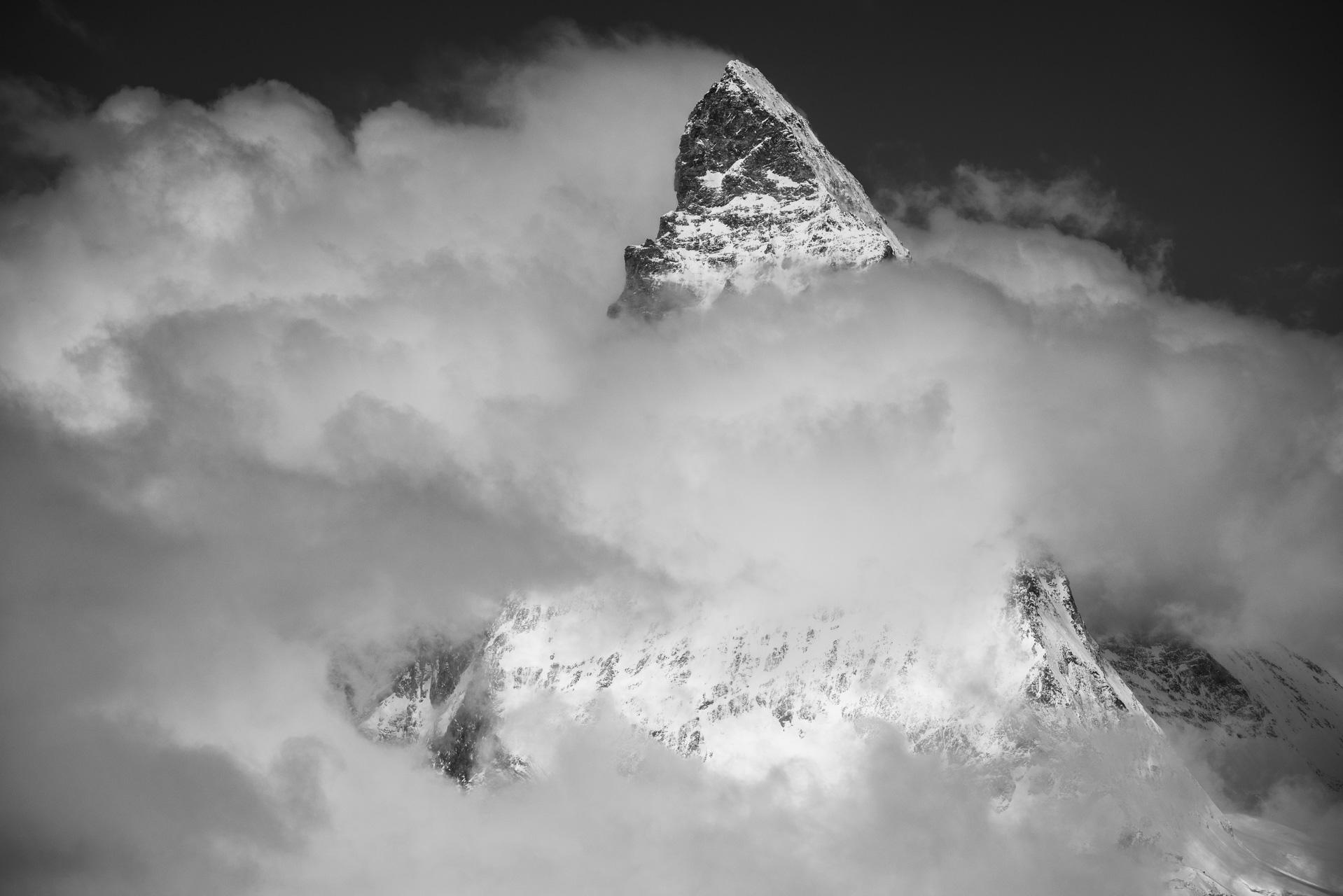 Photo Montagne Cervin Alpes vu depuis le Gornergratt
