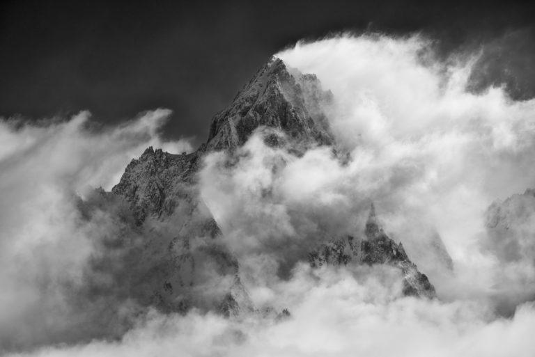 Photo Massif du Mont-Blanc -photo du mont blanc - Aiguille du Chardonnet