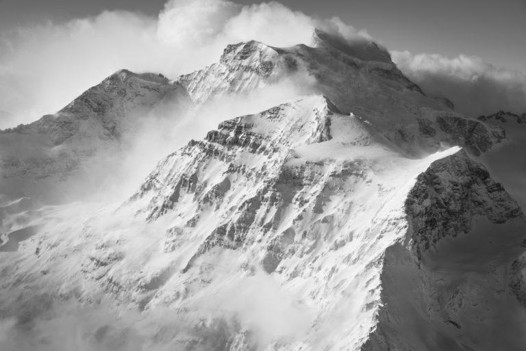 Combin et Tournelon Blanc - Mer de nuage sur les sommets des Alpes - photos montagne hautes alpes