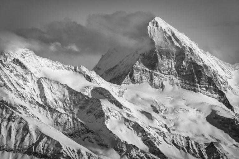 Val d'hérens - Photo Dent blanche Valais Alpes
