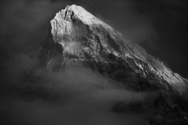 Photos Dent Blanche vue du Val d'Hérens