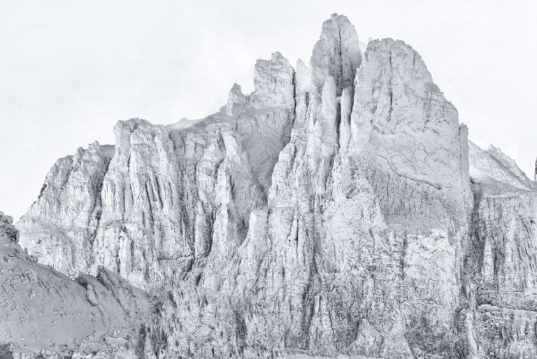Dents du midi - Photo Alpes enneigées - Les doigts de salanfe
