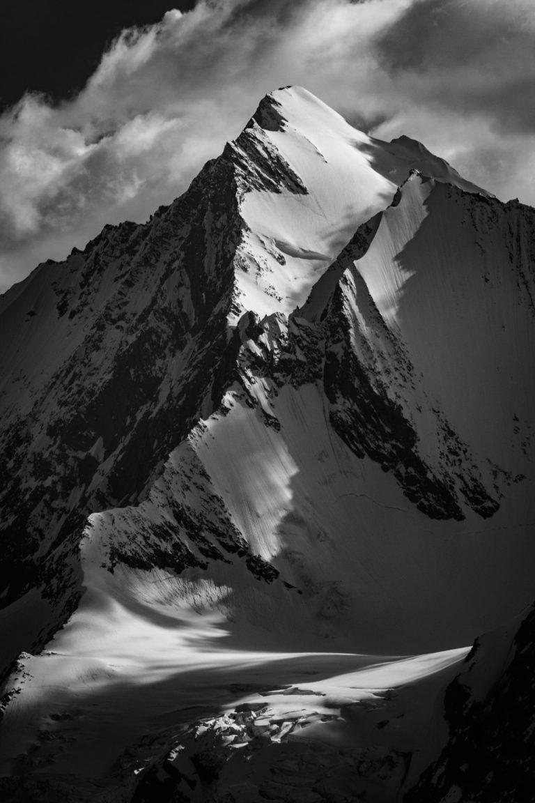 Vallée de Saas-Fee - Photo Alpes Valais Suisse - Dom des Mischabels vu de Saastal