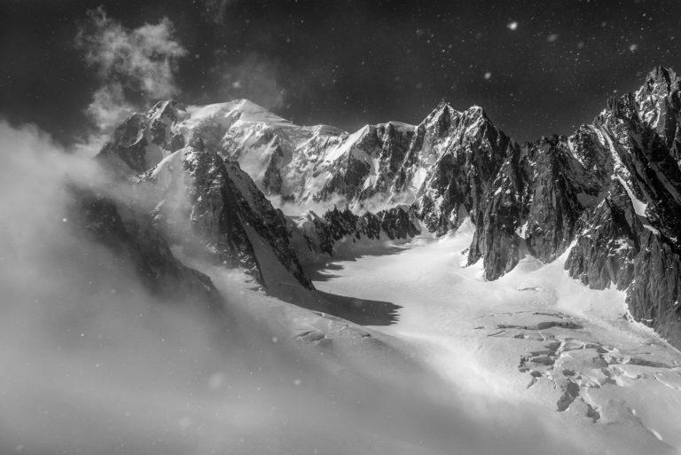 photo mont blanc - image mont blanc - Versant Brenva du Mont-Blanc