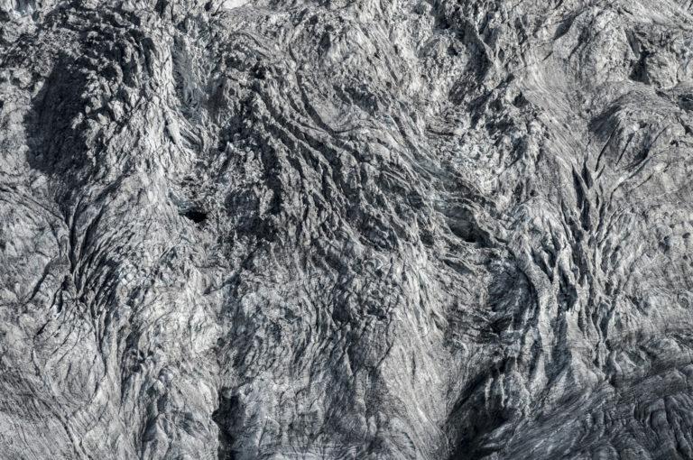 Les glaciers des Alpes - Glacier Tschierva - Glacier du Piz Bernina