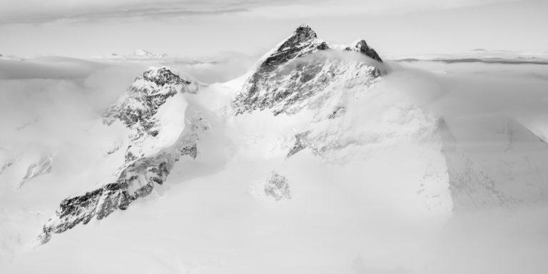 panorama montagne Mont Blanc - photo panoramique montagne Jungfrau