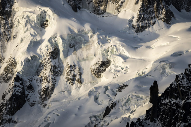 Glaciers des Alpes - photo montagne neige - Glacier Alpes - Mont Mallet à Chamonix
