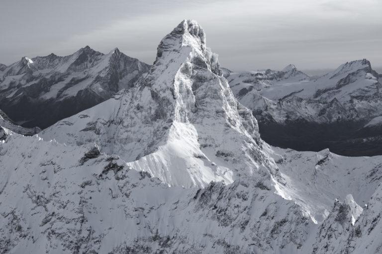 photo matterhorn paysage de montagne