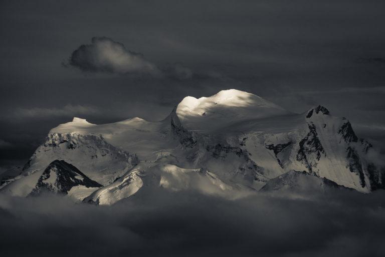 Grand combin - Photo Val de Bagnes - Les combins -