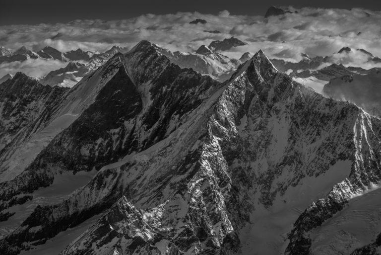 Vallée de Saas-Fee - Photo montagne Valais Alpes Suisse - Massif des Mischabels