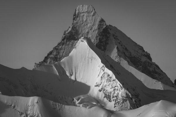 Photo de montagne - Photo alpes - Matterhorn - Obergabelhorn