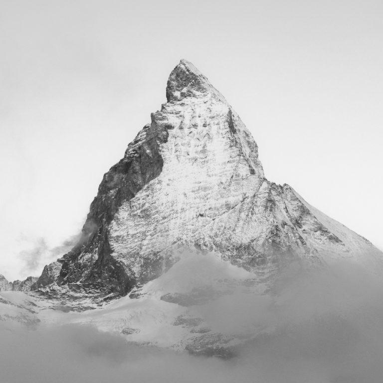 Matterhorrn - Mont Cervin - Paysage de montagne en automne région du Gornergratt dans les Alpes Valaisannes de Zermatt