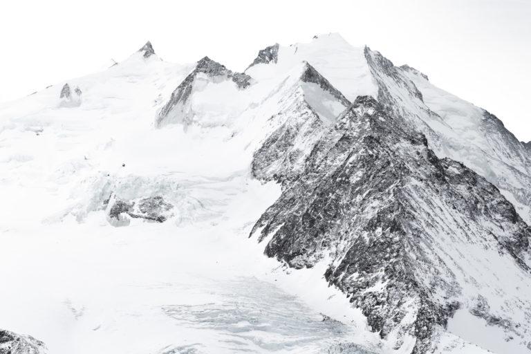 Sommet des Alpes et Massif montagneux suisse - Dom des Mischabels, Saas-Fee et Zermatt