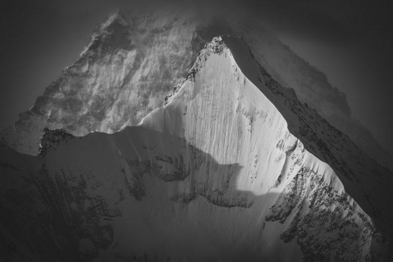 Obergabelhorn Face Nord - Matterhorn