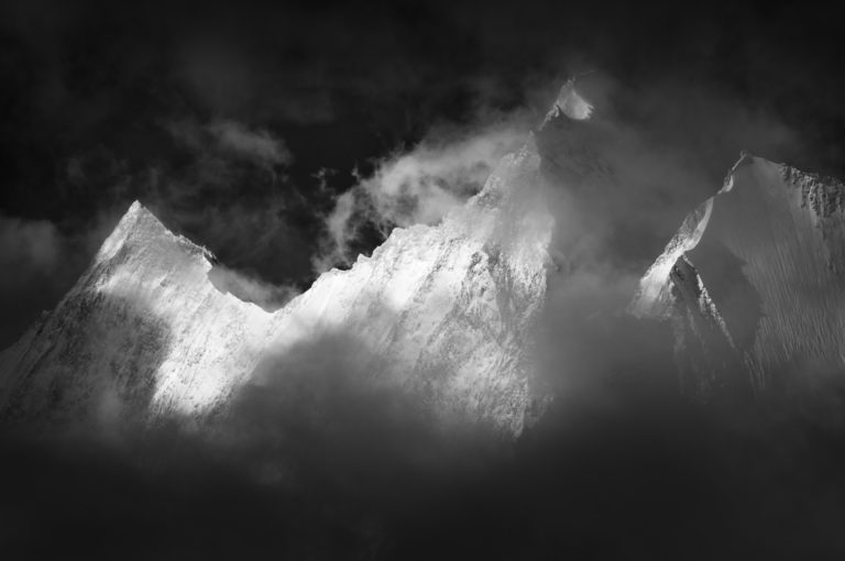 Vallée de Saas-Fee - Alpes Valais Suisse -Alphubel