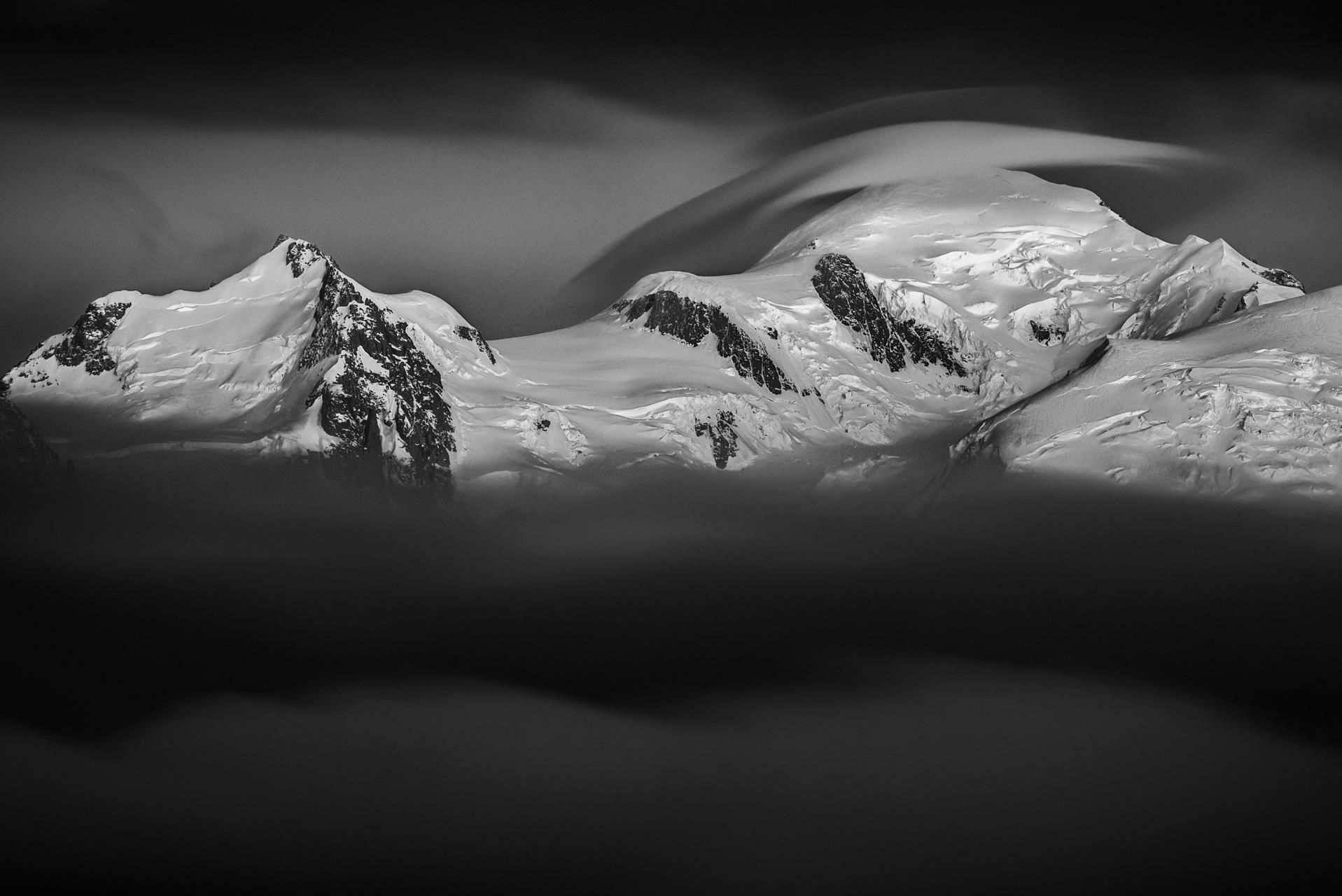 Photo du mont blanc - image mont blanc - Photo chamonix
