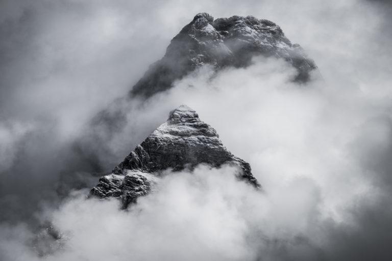 Mont Cervin - Photo mont cervin Matterhorn - Tyndall vu de Valtournenche