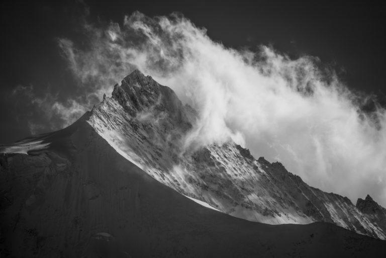 Zinalrothorn - Photos montagnes rocheuses Val d'Anniviers