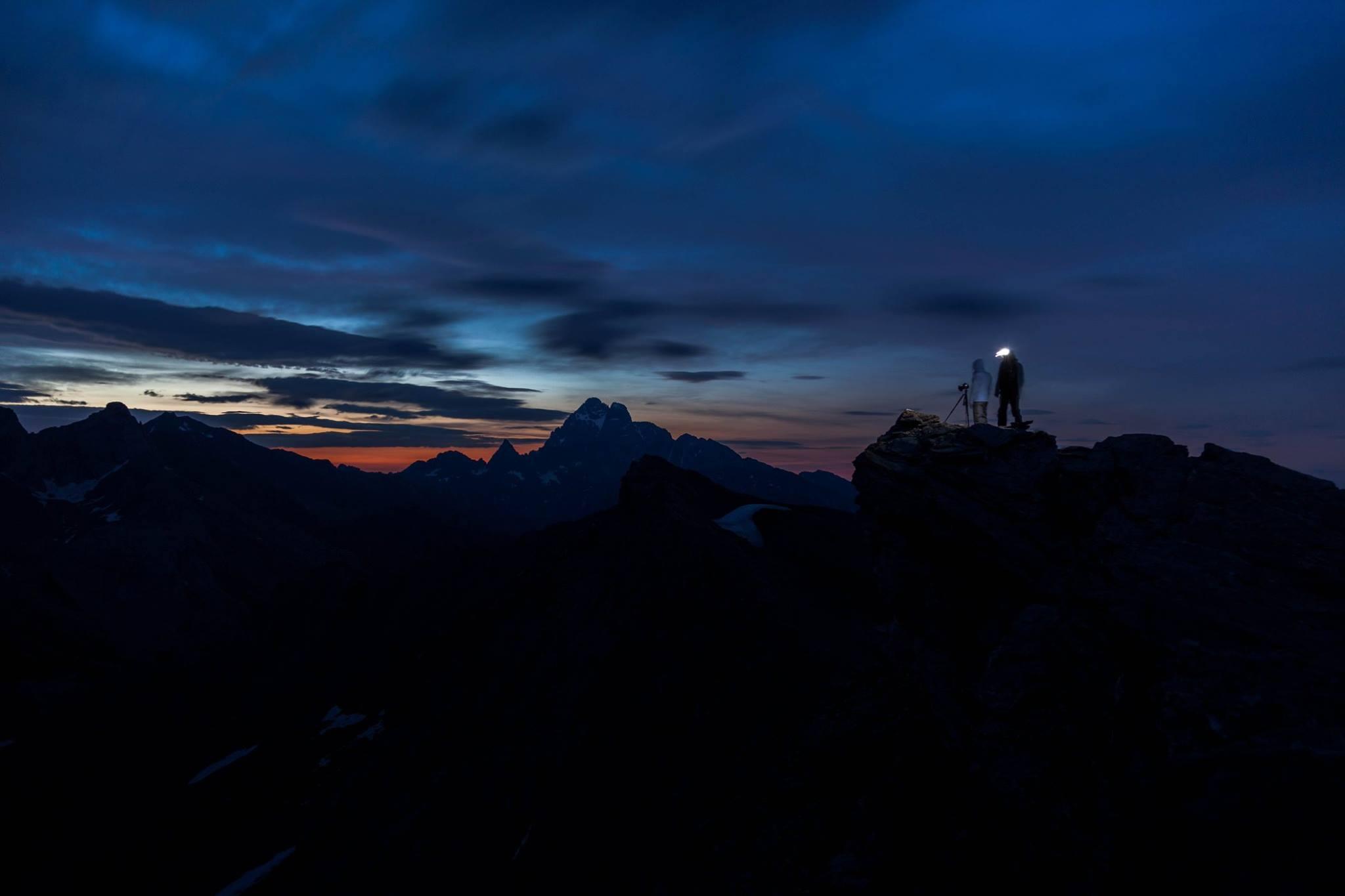 Photographier les montagnes de nuit